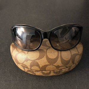 Coach butterfly armed sunglasses